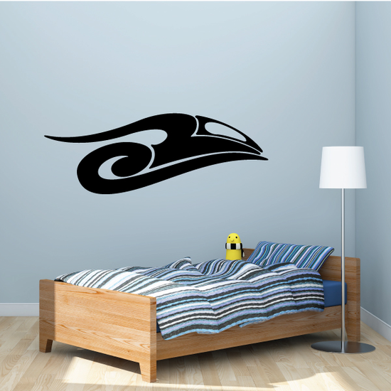 Tribal Vehicle Pinstripe Wall Decal - Vinyl Decal - Car Decal - MC161