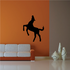 Minimal Standing Horse Decal