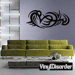 Classic Tribal Wall Decal - Vinyl Decal - Car Decal - DC 032