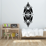 Tribal Vehicle Pinstripe Wall Decal - Vinyl Decal - Car Decal - MC165