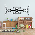 Tribal Vehicle Pinstripe Wall Decal - Vinyl Decal - Car Decal - MC166
