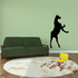 Hind Legs Standing Horse Decal