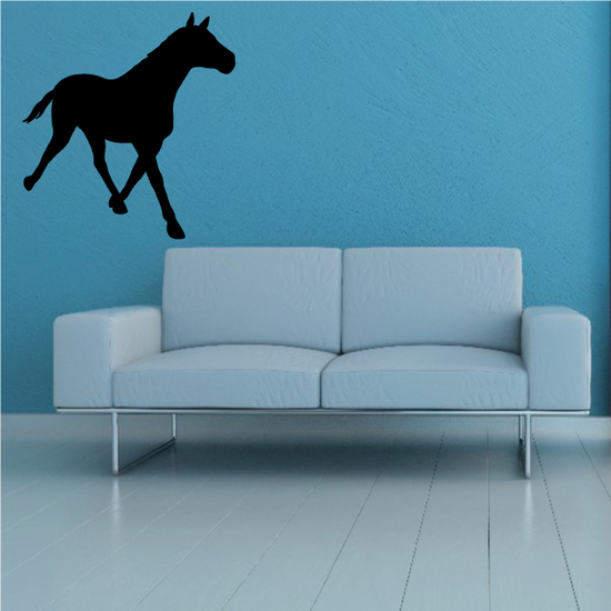 Fast Walking Horse Decal