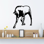 Shaking Head Horse Decal