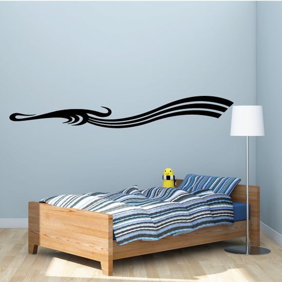Tribal Vehicle Pinstripe Wall Decal - Vinyl Decal - Car Decal - MC175