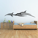 Tribal Vehicle Pinstripe Wall Decal - Vinyl Decal - Car Decal - MC176