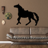 Saddled Horse Looking Forward Decal