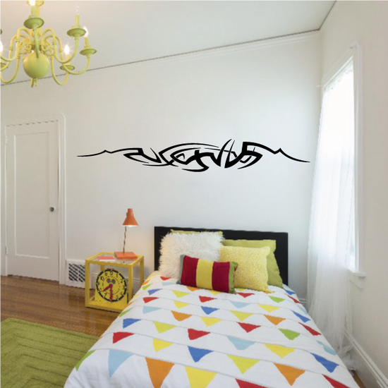 Tribal Vehicle Pinstripe Wall Decal - Vinyl Decal - Car Decal - MC191