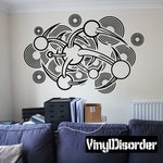Tattoo Wall Decal - Vinyl Decal - Car Decal - DC 23027
