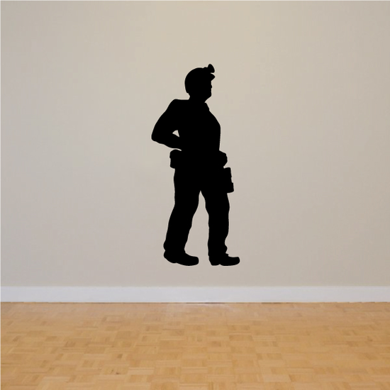 Miner Decal