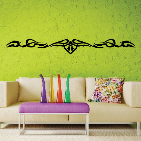 Tribal Vehicle Pinstripe Wall Decal - Vinyl Decal - Car Decal - MC204