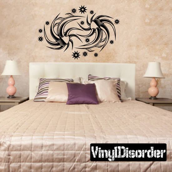 Tattoo Wall Decal - Vinyl Decal - Car Decal - DC 23039