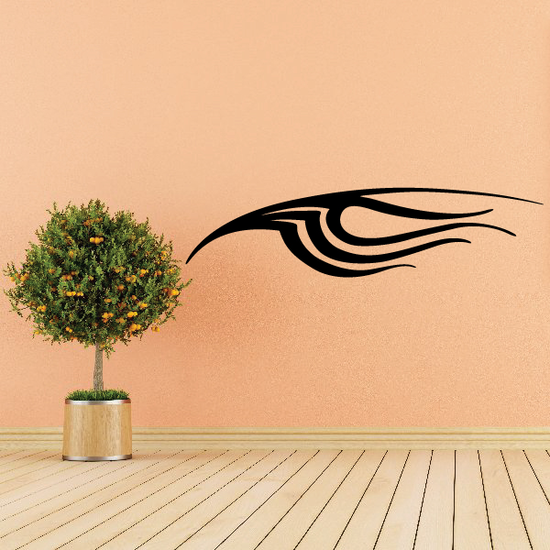 Tribal Vehicle Pinstripe Wall Decal - Vinyl Decal - Car Decal - MC217
