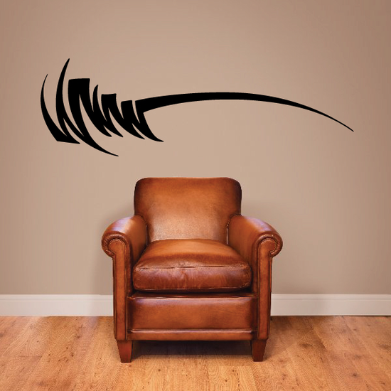 Tribal Vehicle Pinstripe Wall Decal - Vinyl Decal - Car Decal - MC225