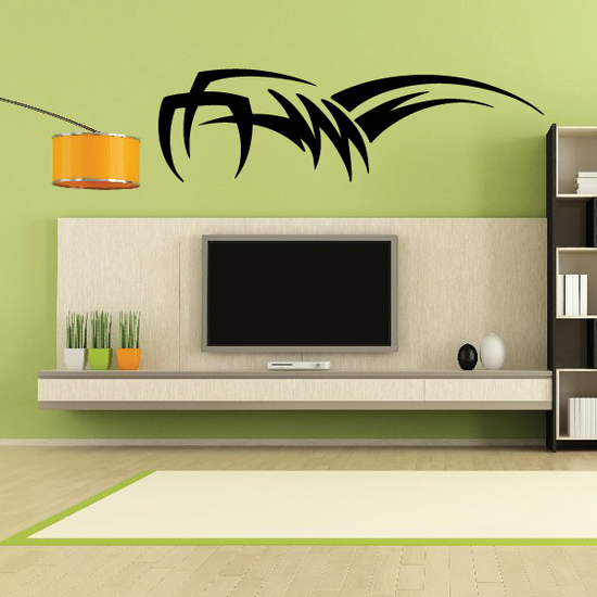 Tribal Vehicle Pinstripe Wall Decal - Vinyl Decal - Car Decal - MC229