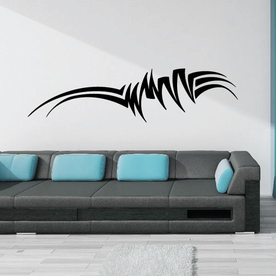 Tribal Vehicle Pinstripe Wall Decal - Vinyl Decal - Car Decal - MC239