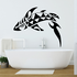 Leap Over Tribal Whale Decal
