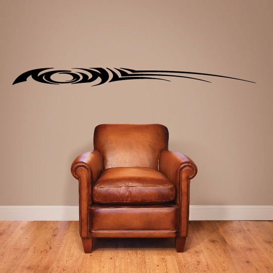 Tribal Vehicle Pinstripe Wall Decal - Vinyl Decal - Car Decal - MC250
