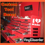 Customize your Toolbox Tool Box with Any item number or image.
