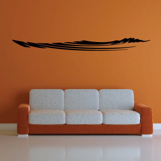 Tribal Vehicle Pinstripe Wall Decal - Vinyl Decal - Car Decal - MC258