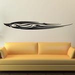 Tribal Vehicle Pinstripe Wall Decal - Vinyl Decal - Car Decal - MC260