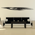 Tribal Vehicle Pinstripe Wall Decal - Vinyl Decal - Car Decal - MC262