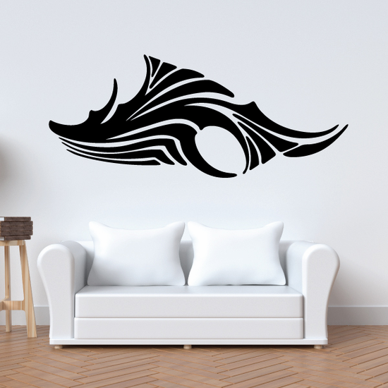 Tribal Vehicle Pinstripe Wall Decal - Vinyl Decal - Car Decal - MC263