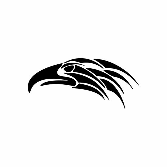 Tribal Bird pin stripes and lines Car Vinyl Decal Sticker Stickers 0002