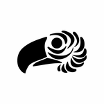 Tribal Bird pin stripes and lines Car Vinyl Decal Sticker Stickers 0010