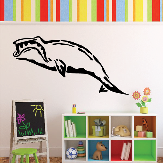 Hungry Sperm Whale Decal