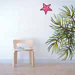Christmas Ornament Wall Decal - Vinyl Sticker - Car Sticker - IDCOLOR011