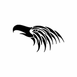 Tribal Bird pin stripes and lines Car Vinyl Decal Sticker Stickers 0011