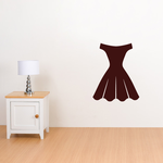 Womans Dress Decal