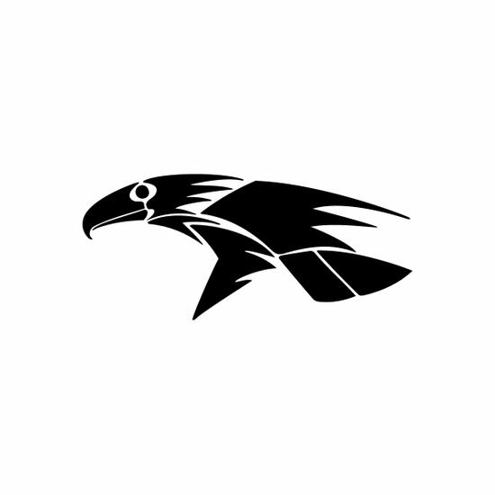 Tribal Bird pin stripes and lines Car Vinyl Decal Sticker Stickers 0012