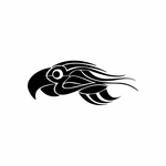 Tribal Bird pin stripes and lines Car Vinyl Decal Sticker Stickers 0014