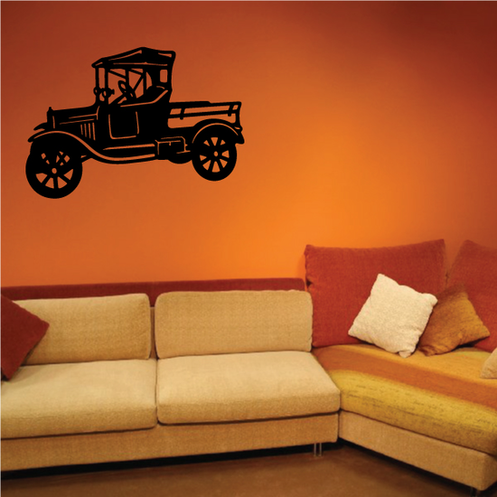 Model T Pickup Wall Decal - Vinyl Decal - Car Decal - NS001