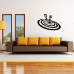 Dartboard Bullseye Decal