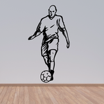 Soccer Wall Decal - Vinyl Decal - Car Decal - CDS055