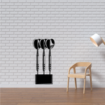 Darts in Block Decal