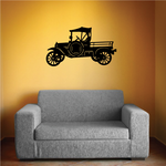 Model T Pickup Wall Decal - Vinyl Decal - Car Decal - NS002