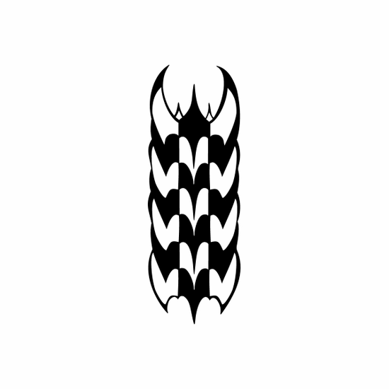Tribal pin stripes and lines Car Vinyl Decal Sticker Stickers 0040