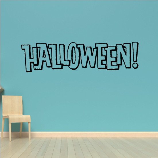 Halloween Wall Decal - Vinyl Decal - Car Decal - Business Sign - MC251