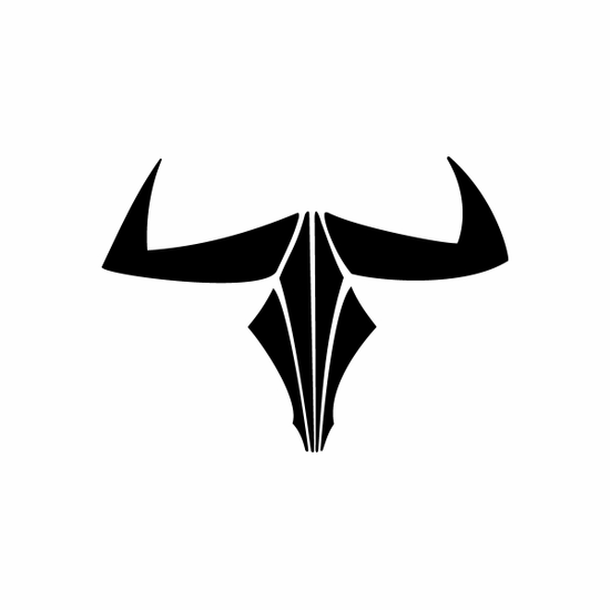 Tribal Bull pin stripes and lines Car Vinyl Decal Sticker Stickers 0041