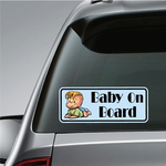 Toddler Boy On Board Sticker