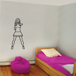 Cheer Wall Decal - Vinyl Decal - Car Decal - 030