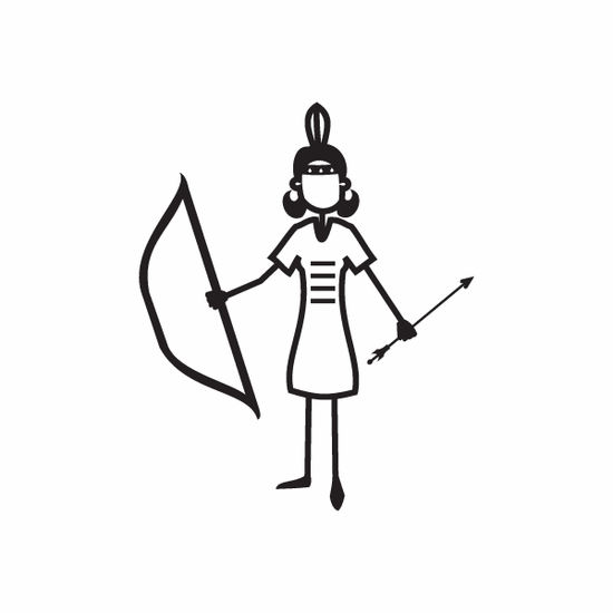 Mom Indian Decal