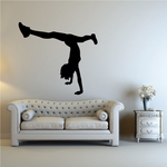 Cheerleading Cheer Wall Decal - Vinyl Decal - Car Decal - NS020