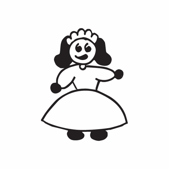 Mom Queen Decal