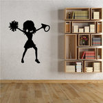 Cheerleading Cheer Wall Decal - Vinyl Decal - Car Decal - NS035