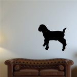 Looking Off Boer Goat Silhouette Decal